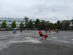 サッカー練習1